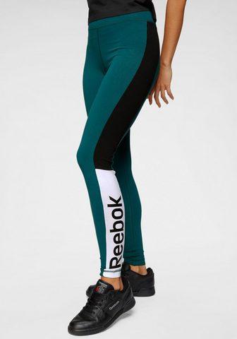 REEBOK Tamprės »TE Linear Logo Legging«