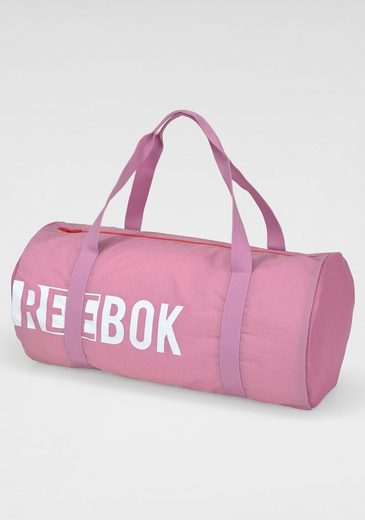 Reebok Sporttasche »W FOUND CYLINDER BA«, Mesheinsätze an den Seiten