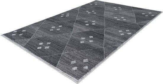 Teppich »Brazda 090«, calo-deluxe, rechteckig, Höhe 10 mm, Kurzflor