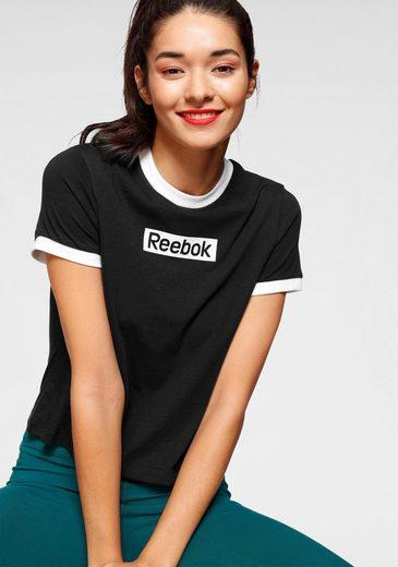 Reebok T-Shirt »TE Linear Logo Slim«