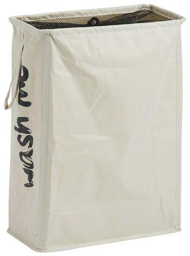 Zeller Present Wäschesack »Wäschekorb Wash me«, BxTxH: 20x40x56 cm