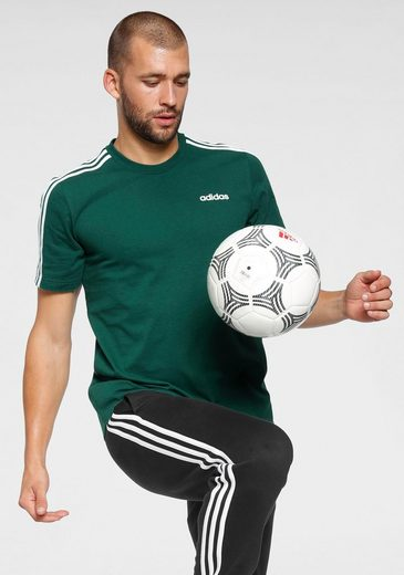 adidas Performance T-Shirt »ESSENTIALS 3 STRIPES TEE«