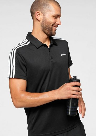 adidas Performance Poloshirt »DESIGNED TO MOVE CLASSIC 3 STRIPES«