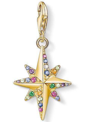 Кулон »Farbiger Звезда gold 1816...