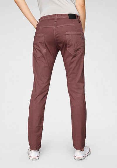 Please Jeans Boyfriend Jeans »P85A« lässige Jeans Hose mit Crinkle Effekt und krempelbarem Bein