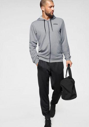 adidas Performance Trainingsanzug »MEN TRACKSUIT LINEAR HOODY« (Set, 2-tlg)