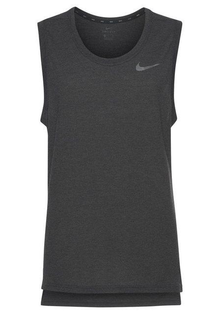 Nike Laufshirt »M NK BRT TANK HPR DRY« | Sportbekleidung > Sportshirts > Laufshirts | Nike