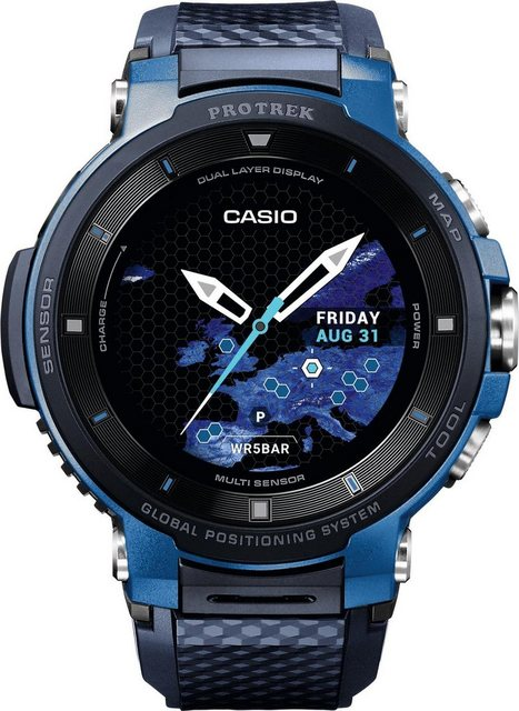 Smartwatches - CASIO PRO TREK Smart WSD F30 BUCAE Smartwatch (Wear OS by Google)  - Onlineshop OTTO