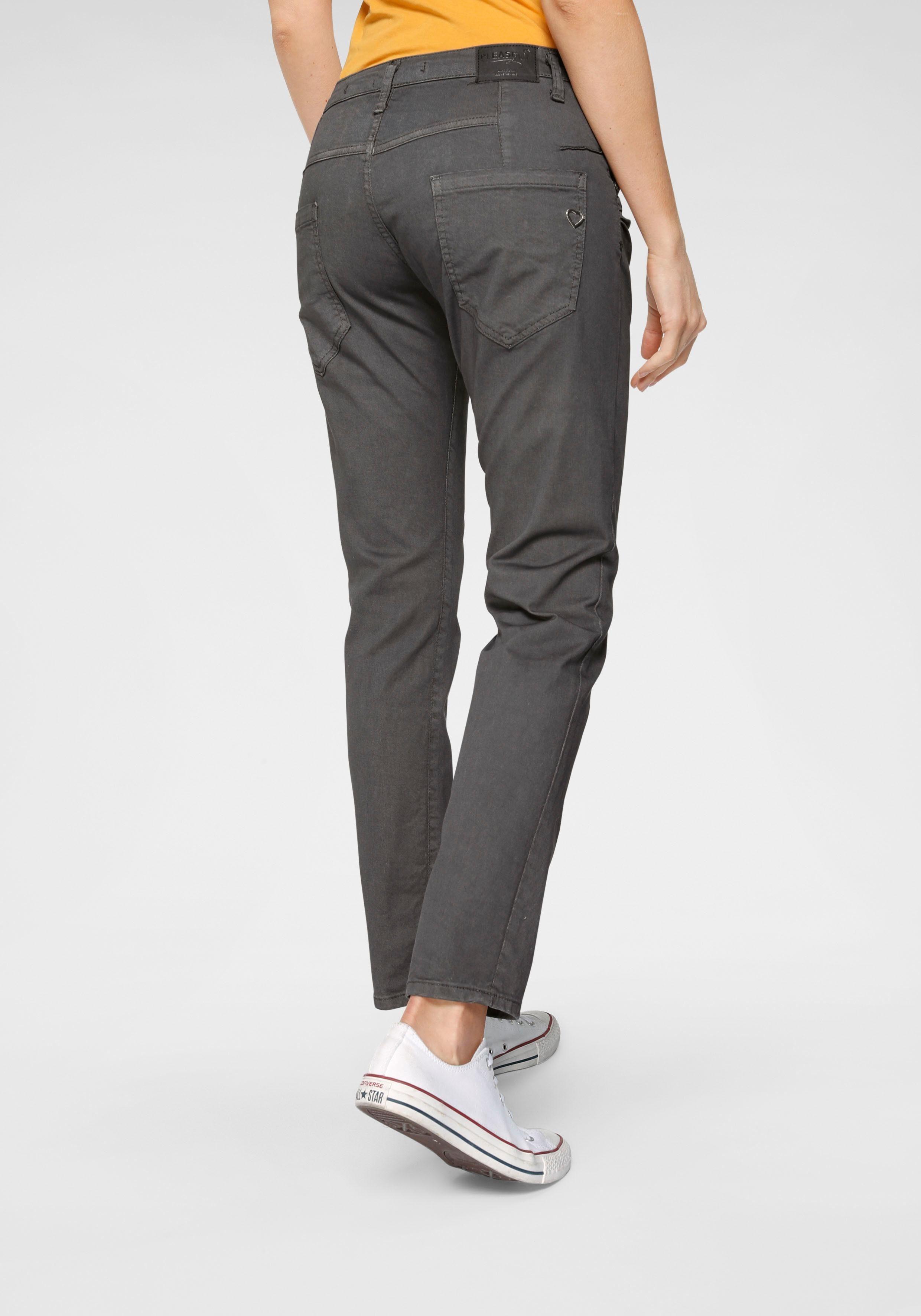 Please Jeans Boyfriend Jeans »P85A« lässige Jeans Hose mit Crinkle Effekt und krempelbarem Bein online kaufen | OTTO