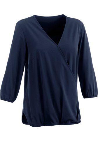 CLASSIC INSPIRATIONEN Блуза в schmeichelnder с ложным запахо...