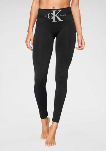 Calvin Klein Leggings mit breitem Shapingbund