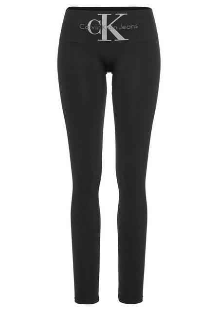 Hosen - Calvin Klein Leggings mit breitem Shapingbund ›  - Onlineshop OTTO