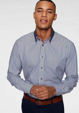 Рубашка для бизнеса модный полосатая doppelter Button-down-Kragen