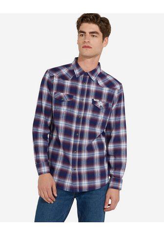 WRANGLER Marškiniai ilgomis rankovėmis