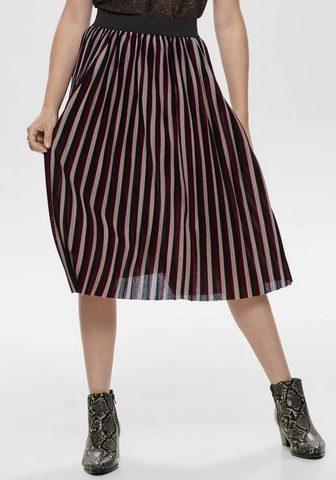 ONLY Klostuotas sijonas »SWAY«