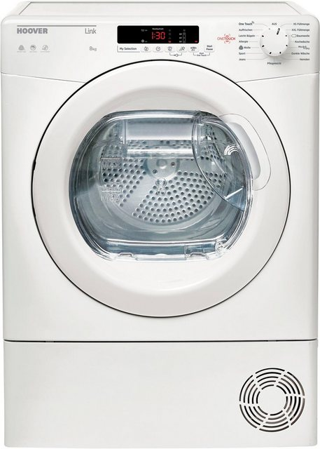 Hoover Kondenstrockner GHLC C8DE-84, 8 kg | Bad > Waschmaschinen und Trockner > Kondenstrockner | Hoover