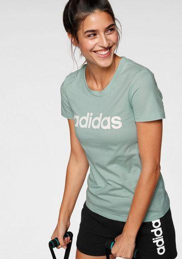 adidas Performance T-Shirt »LINEAR SLIM TEE«