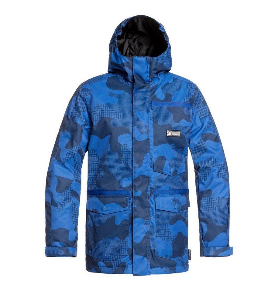 Herren DC Shoes Snowboardjacke »Servot« blau, braun, schwarz | 03613374527973