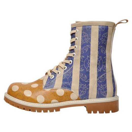 DOGO »Stripes and Dots« Stiefel Vegan