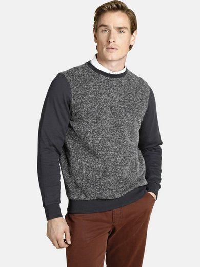 Charles Colby Sweatshirt »EARL FERGUS« Torso in Tweetoptik