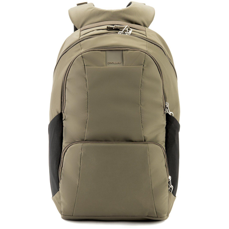 Unisex Pacsafe Metrosafe LS450 Rucksack RFID 48 cm Laptopfach grün   00688334043803