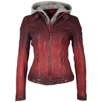 premium selection 1a23f ea40a Damen Lederjacke in rot online kaufen | OTTO
