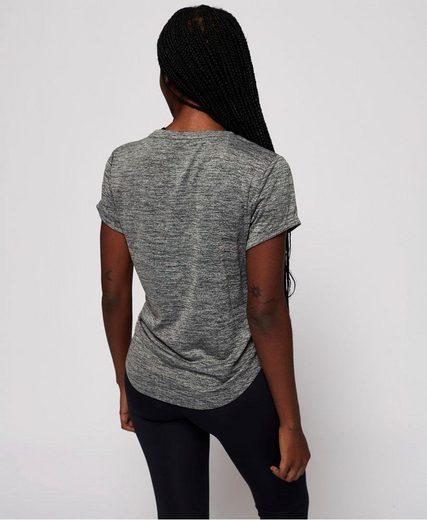 Superdry Rundhalsshirt »ACTIVE LOOSE FIT TEE« mit großem Logodruck