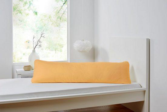 Kissenbezug »Seitenschläferkissen«, Primera (1 Stück), in weicher Feinjersey-Qualität