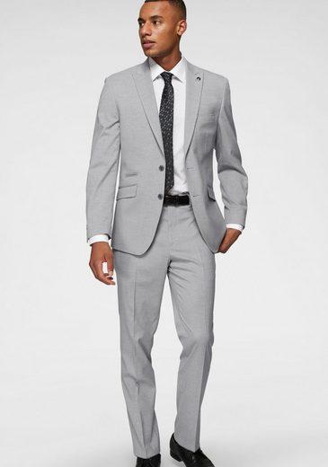 Bruno Banani Anzug mit zweifarbigen Strukturmuster