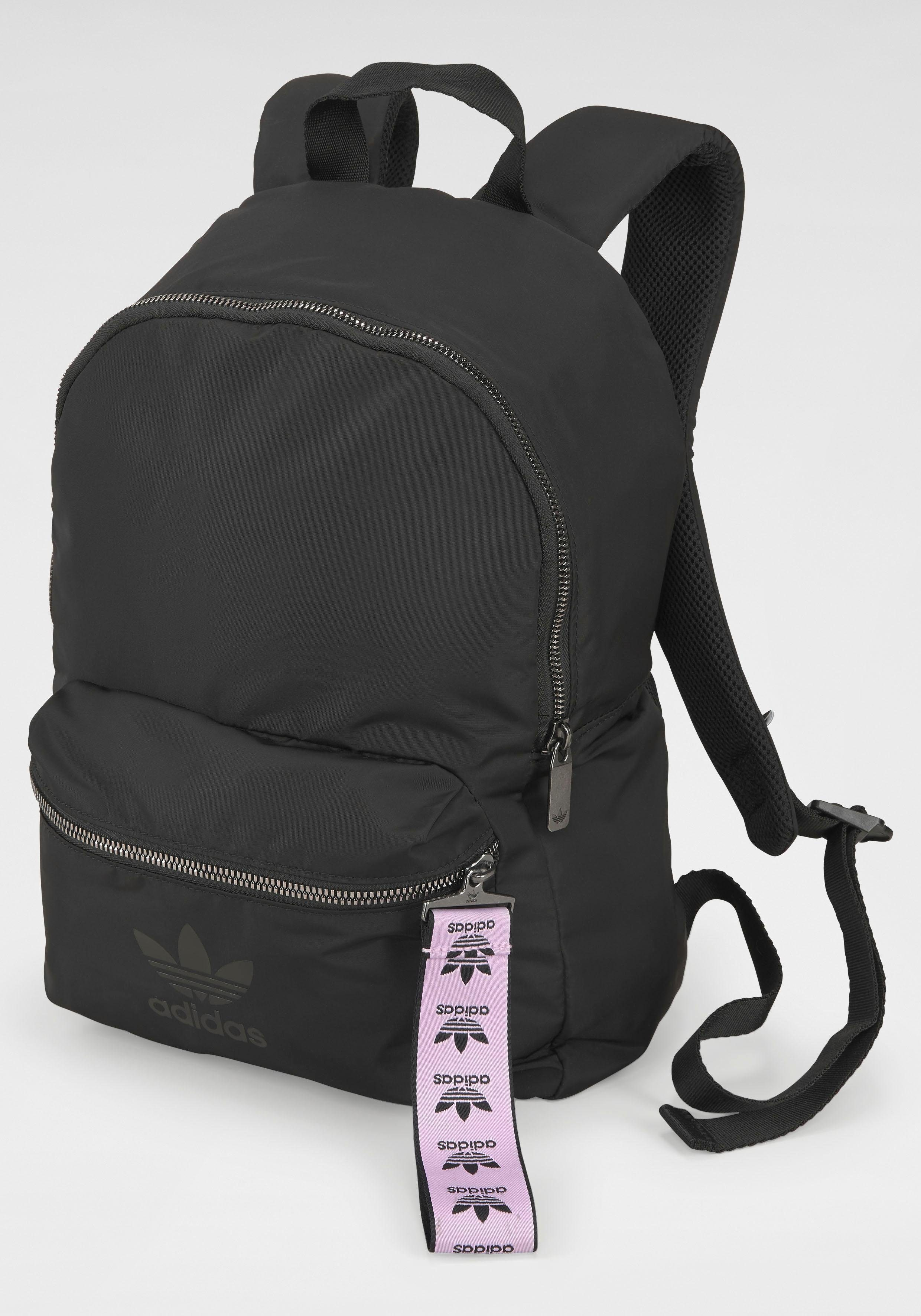 Unisex adidas Originals Sportrucksack »NYLON W BACKPACK« rosa, schwarz   04062055405410