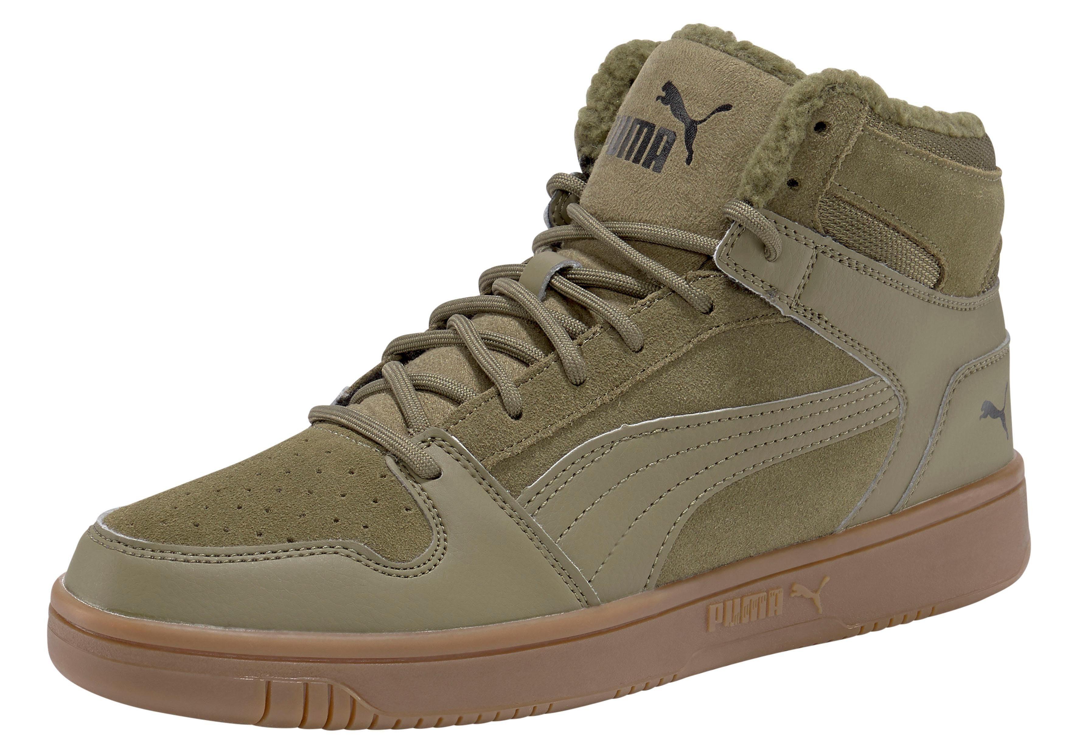PUMA »Puma Rebound LayUp SD Fur« Sneaker, Knöchelhoher Sneaker von PUMA online kaufen | OTTO