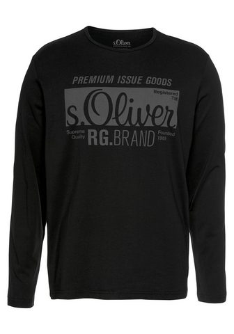 S.OLIVER Marškinėliai ilgomis rankovėmis »Longs...