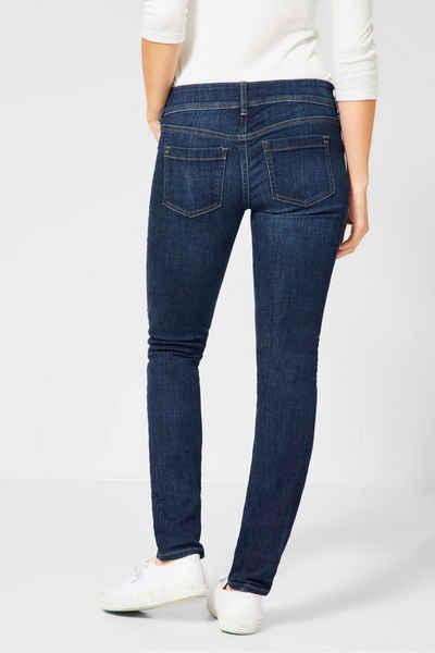 STREET ONE Slim fit Jeans »York« mit leichter Waschung