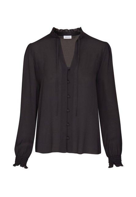 seidensticker Klassische Bluse »Schwarze Rose« Langarm Kragen Uni | Bekleidung > Blusen > Klassische Blusen | seidensticker