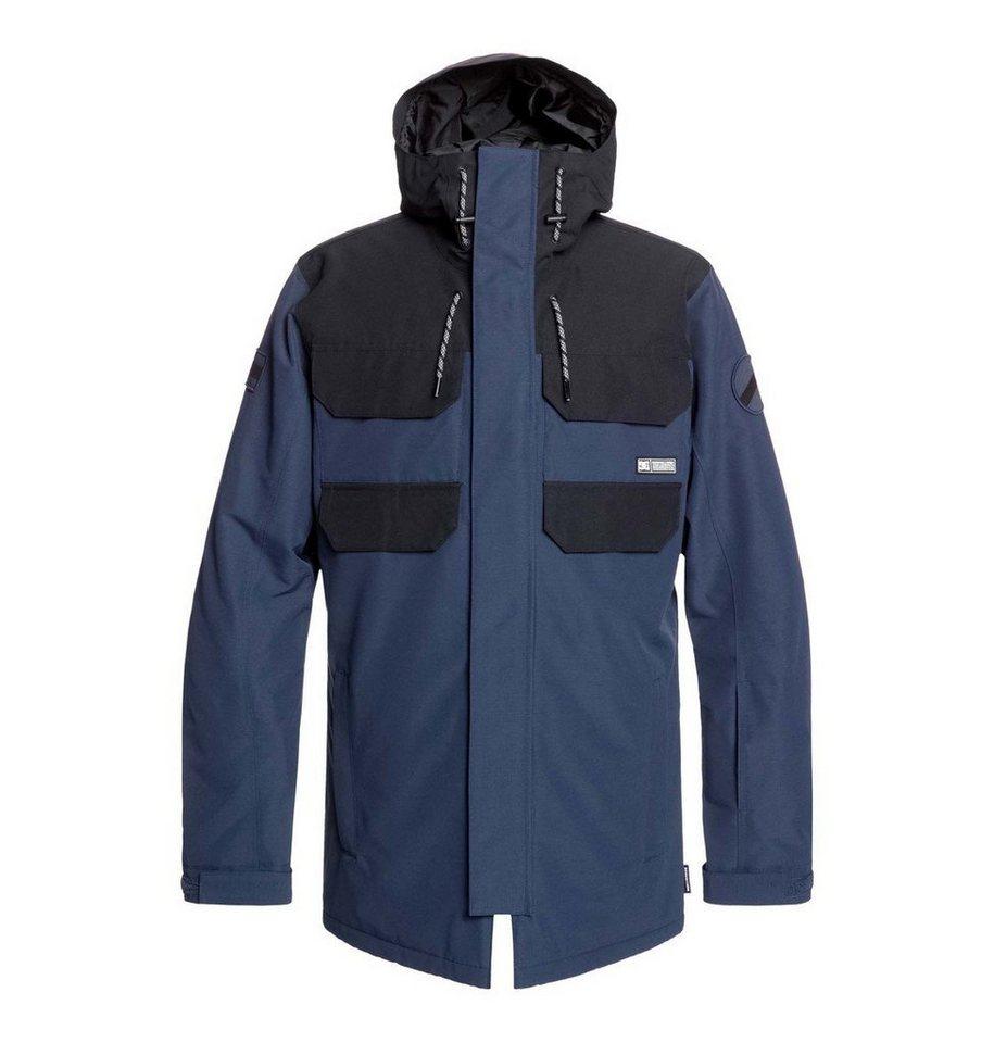 Herren DC Shoes Snowboardjacke »Havent« blau, braun | 03613374499577