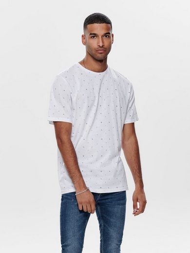 ONLY & SONS Gepunktetes T-Shirt