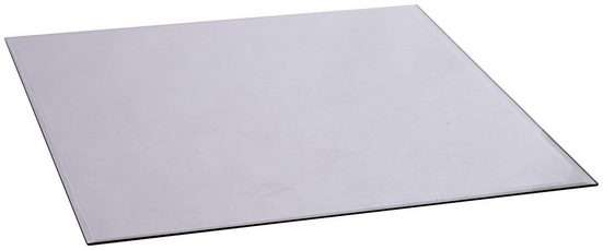 FIREFIX Bodenplatte vieleckig, Edelstahl, 1000 x 1000 mm