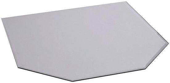 FIREFIX Bodenplatte sechseckig, Edelstahl, 1100 x 1000 mm