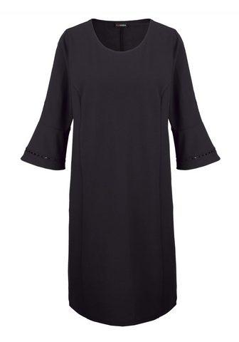 MIAMODA Платье с легко Полупрозрачный Spitzenb...