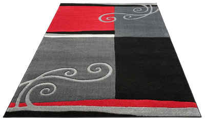 Teppich »Sabal«, DELAVITA, rechteckig, Höhe 10 mm, Handgearbeiteter Konturenschnitt, Wohnzimmer