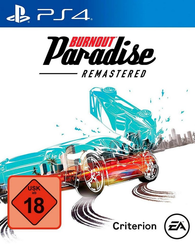 ps4 burnout paradise remastered playstation 4 otto. Black Bedroom Furniture Sets. Home Design Ideas