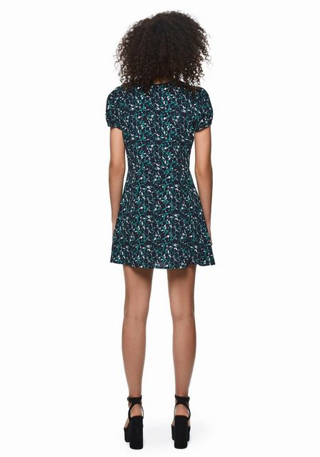 Pepe Jeans Druckkleid »EMINA DUA LIPA X PEPE JEANS« mit Allover-Blumenprint | Bekleidung > Kleider > Druckkleider | Pepe Jeans