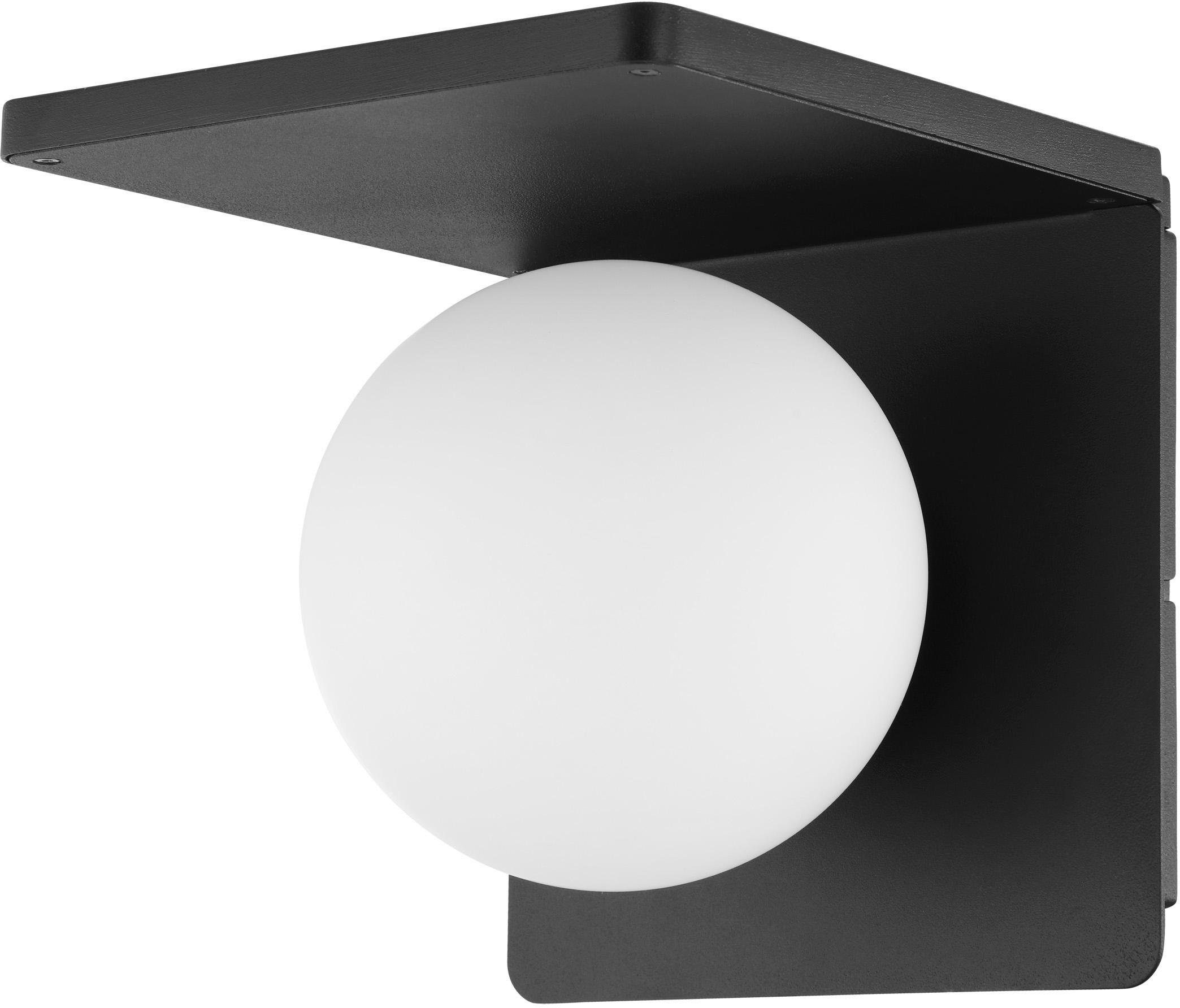 46 x 11 x 11 cm EGLO Wandleuchte Stahl E14 Chrom//Wei/ß