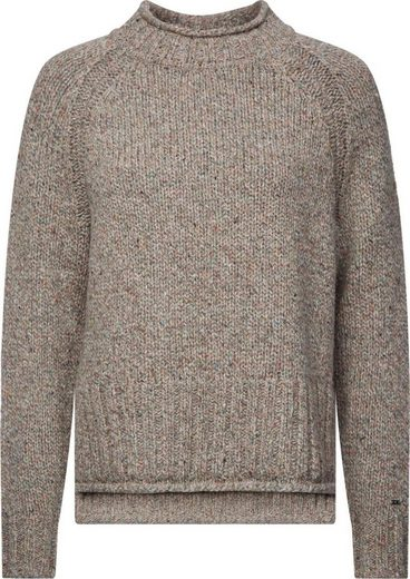Calvin Klein Strickpullover »NEPS ROLL NECK SWEATER« in toller Melange-Optik