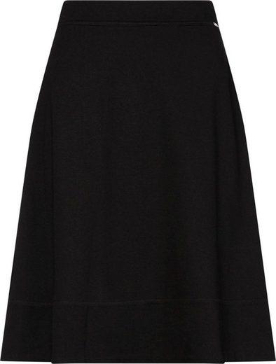 Calvin Klein Jerseyrock »JERSEY HALF CIRCLE SKIRT« aus schwerer Jerseyquliät