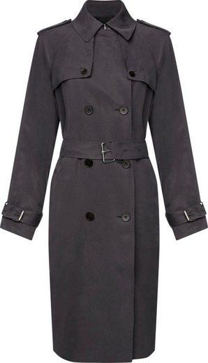 Calvin Klein Trenchcoat »TRANSSEASONAL LS TRENCH COAT« mti den typischen Trenchcoat Details