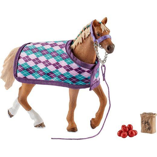 Schleich® 42360 Horse Club: Englisches Vollblut mit Decke