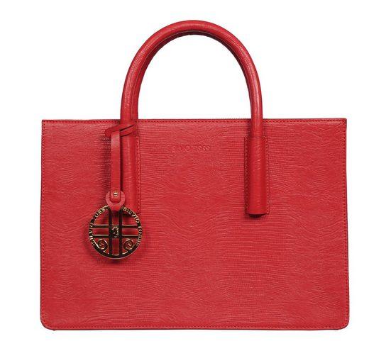 Silvio Tossi Handtasche mit Echsen-Design