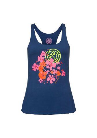 BIDI BADU Marškinėliai be rankovių su gėlių rašt...