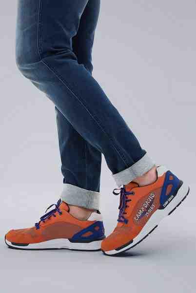 CAMP DAVID Sneaker mit gepolstertem Einstieg